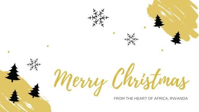 白い背景にメリークリスマスの文字