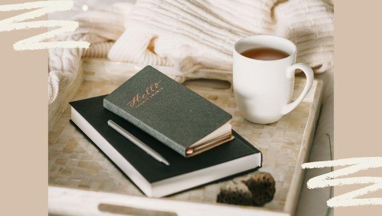 手帳 ノート コーヒー