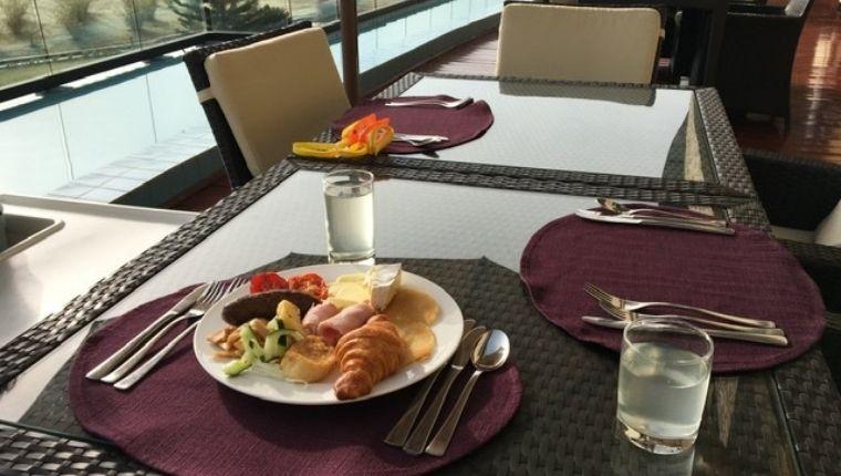 ホテルの朝ご飯