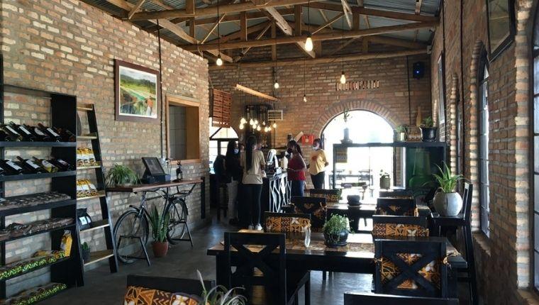 ルワンダに新しいカフェが誕生!Stafford & family Cafe