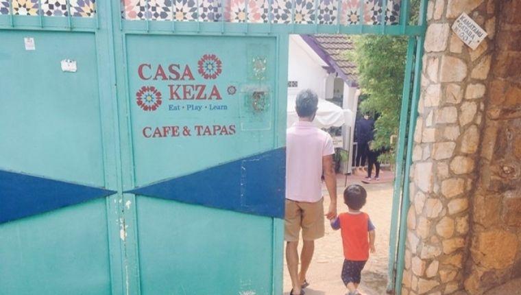 Casa Keza入口