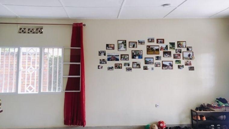 お友達の家で気づいた写真を飾る素敵な生活