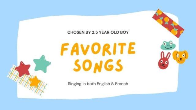 海外の保育園デビュー!2歳半児が楽しく歌える歌をご紹介