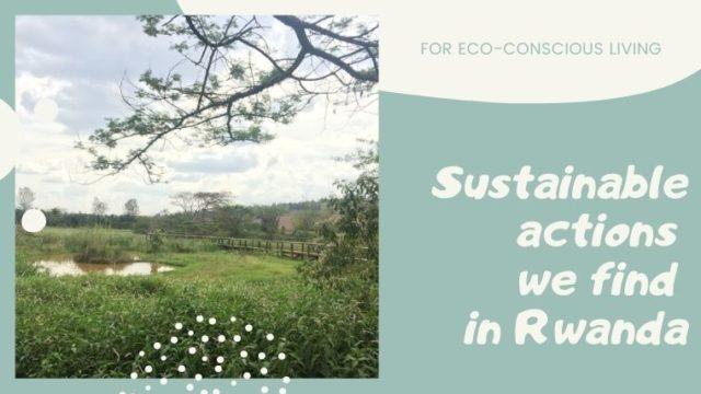 アフリカの中では先を行っている!?エコ先進国を目指すルワンダ